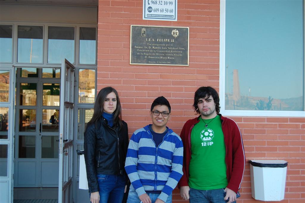 Alumnos del Felipe II en la Olimpiada Matemática