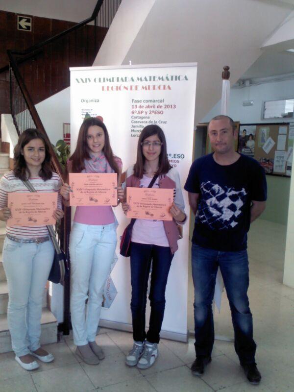Olimpiada matemática en Lorca