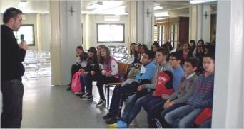 Alumnos de Religión visitan Lorca