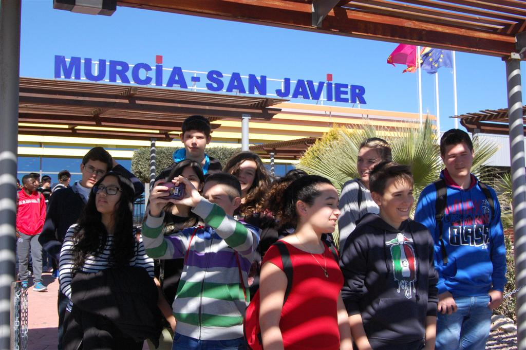 IES Felipe II en Aeropuerto de San javier