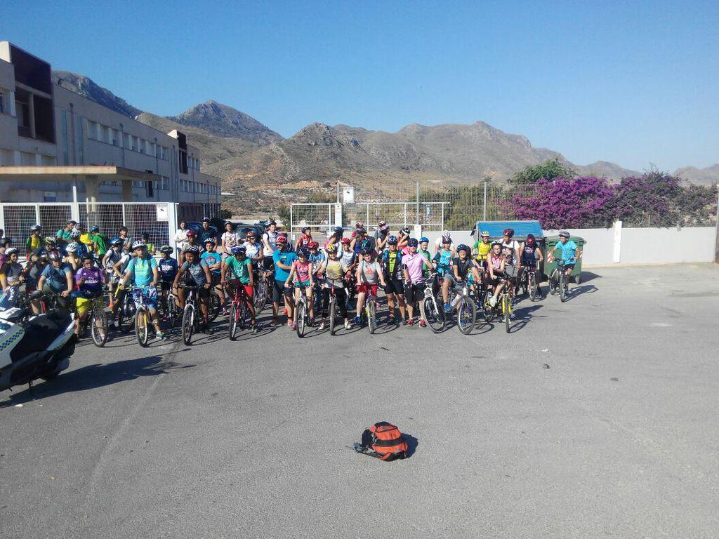 Marcha ciclista IES Felipe II 2015