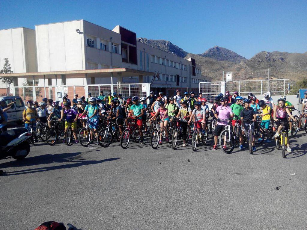Bicicletas en el Día Mundial del Medio Ambiente 2015