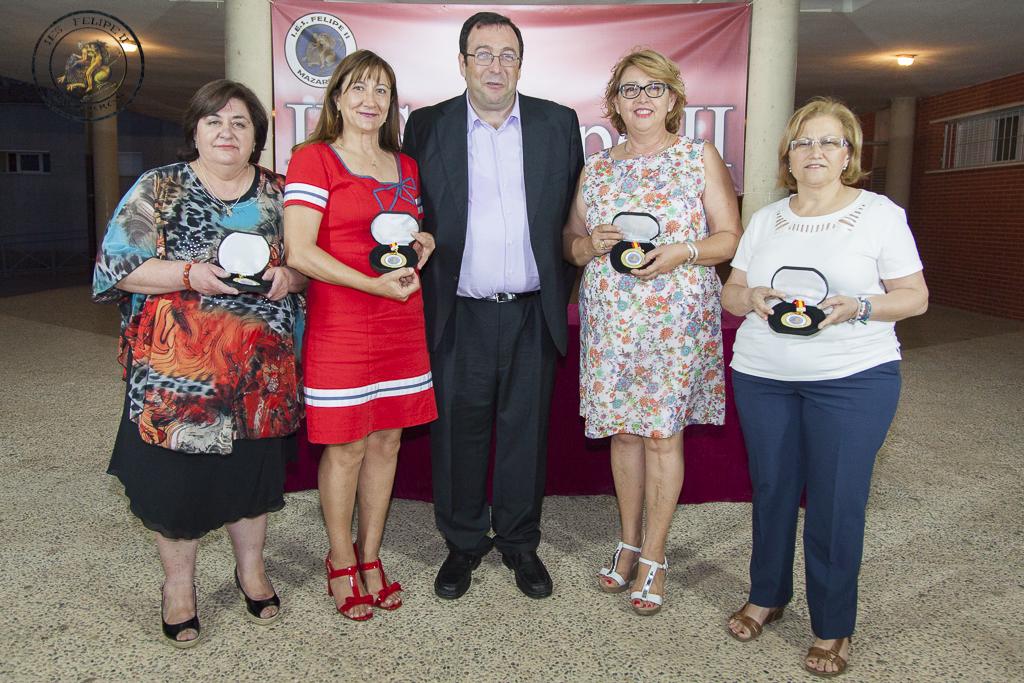 """I Premios """"Amigo del IES Felipe II"""""""