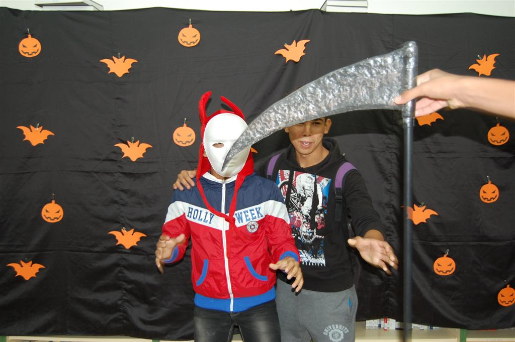 Photocall de Halloween
