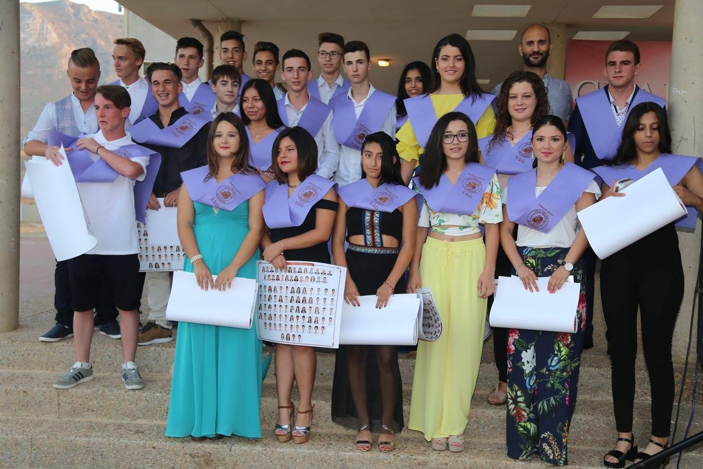 Graduación 4A 2017 IES Felipe II Mazarrón