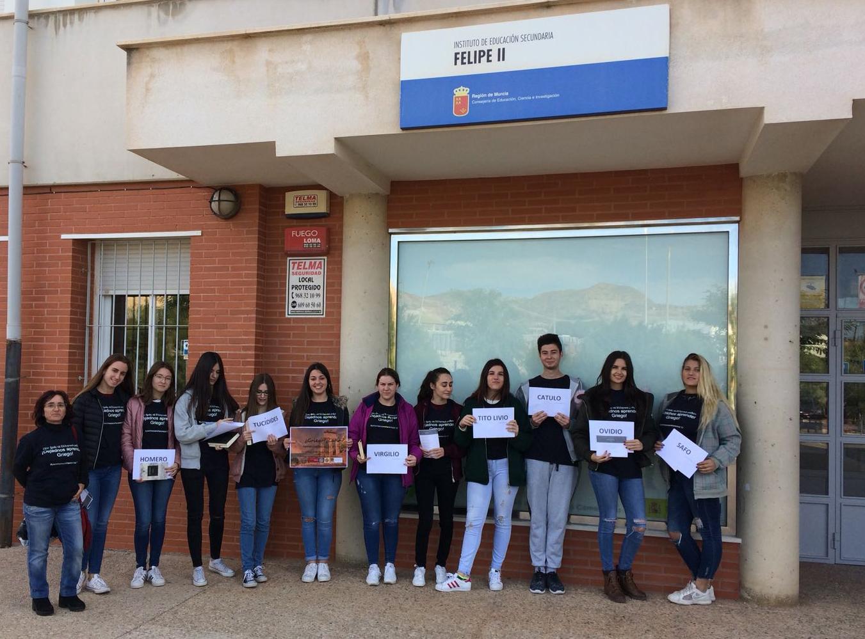 2º Bachillerato Humanidades IES Felipe II 2017-18 Yo conozco mi herencia