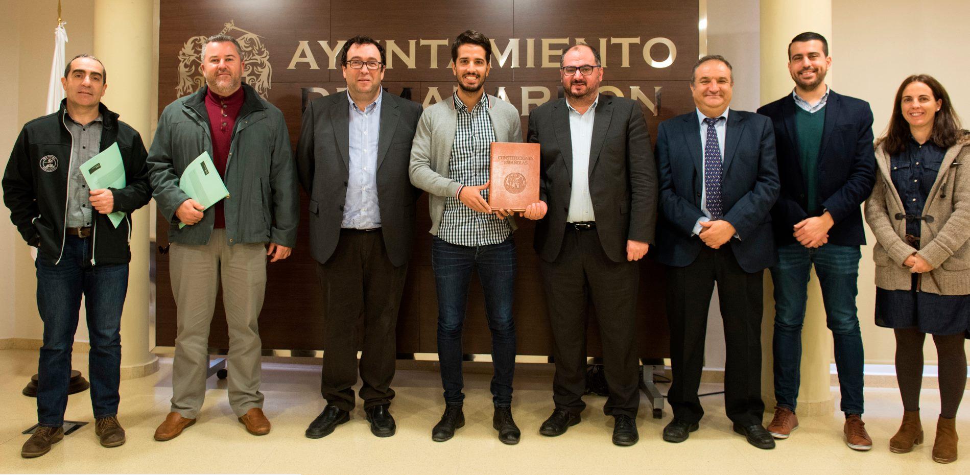 Presentación de la Primera Olimpiada Constitucional, donde participarán los IES de Mazarrón